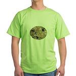 Explore Historic California Tour Logo Green T-Shir
