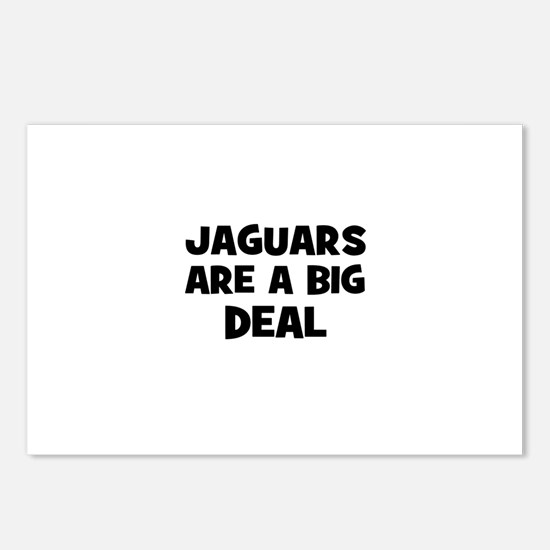 Jaguars are a big deal Postcards (Package of 8)