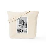 Tracy takes a bath Tote Bag
