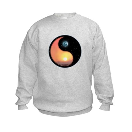 Night and Day Kids Sweatshirt