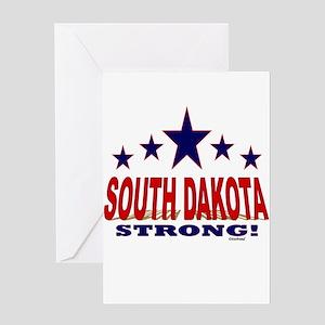 South Dakota Strong! Greeting Card