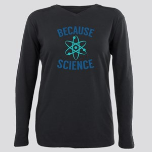 Because Science White T-Shirt