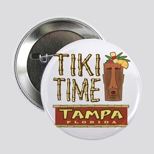 "Tampa Tiki Time - 2.25"" Button"
