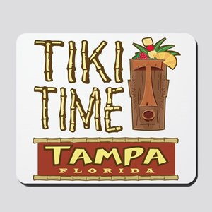 Tampa Tiki Time - Mousepad
