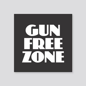 Gun Free Zone Sticker