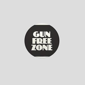 Gun Free Zone Mini Button