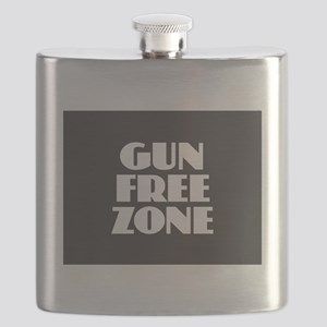 Gun Free Zone Flask