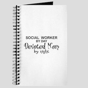 Social Worker Devoted Mom Journal