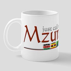 Just Call Me Mzungu - Mug