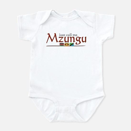 Just Call Me Mzungu - Infant Bodysuit