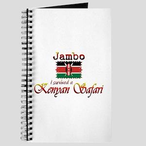 Survived a Kenyan Safari - Journal