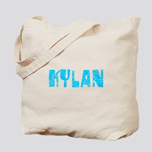 Kylan Faded (Blue) Tote Bag