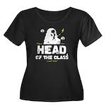 Head of the Class Women's Plus Size Scoop Neck Dar