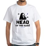 Head of the Class White T-Shirt