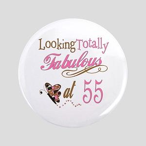 Fabulous 55th 35 Button