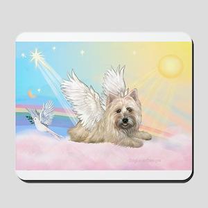 Angel / Cairn Terrier(w) Mousepad