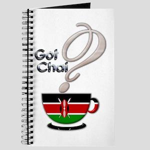 Got Chai? Kenya - Journal