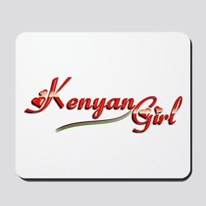 Kenyan Girl - Mousepad