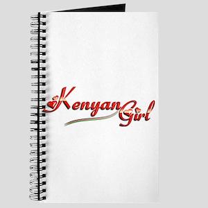 Kenyan Girl - Journal