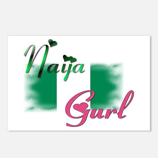 Naija Gurl - Postcards (Package of 8)