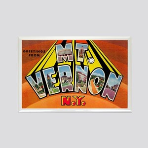 Mt. Vernon New York Rectangle Magnet