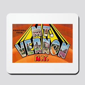 Mt. Vernon New York Mousepad