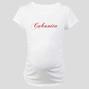 Cubanita Shirt Maternity T-Shirt