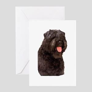 Bouvier Des Flandres Dog Greeting Card