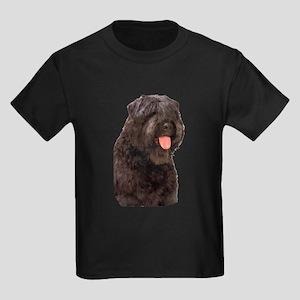 Bouvier Des Flandres Dog Kids Dark T-Shirt