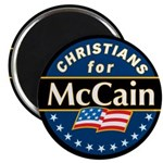 Christians for McCain Magnet