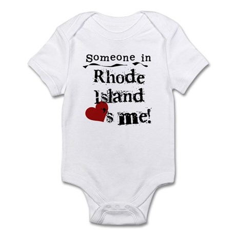 Someone in Rhode Island Infant Bodysuit