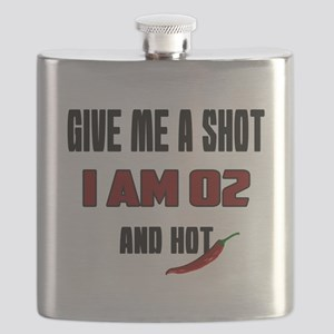Give Me A Shot I Am 02 And Hot Birthday Desi Flask