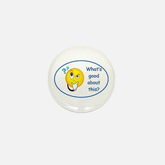 Cute Good news Mini Button
