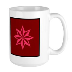 Pink Guiding Star Large Mug