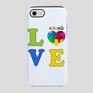 Love Autism 2 iPhone 8/7 Tough Case