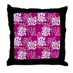 swanky Mo Grape Throw Pillow