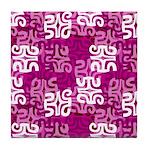 swanky Mo Grape Tile Coaster
