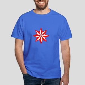 Red Guiding Star Dark T-Shirt