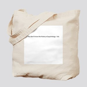 """""""History of psychology"""" Quote Tote Bag"""