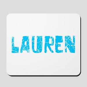 Lauren Faded (Blue) Mousepad