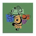 Smokey Joe Green Tile Coaster