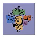 Smokey Joe Lavender Tile Coaster