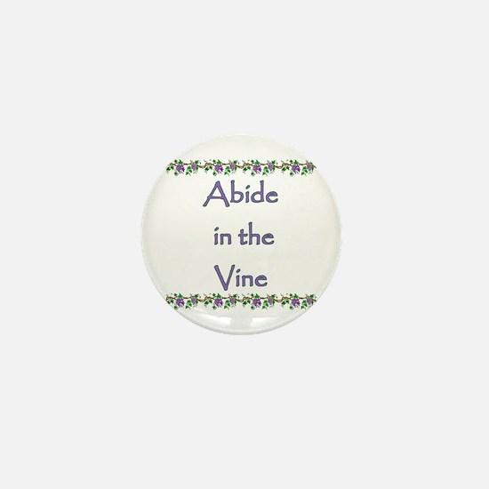 Cute Abide Mini Button