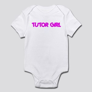 """Tutor Girl"" Infant Bodysuit"