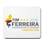 Tim 2018 - Timnado Landscape - Grey Mousepad