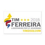 Tim 2018 - Timnado Landscape Rectangle Car Magnet