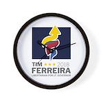 Tim 2018 - Timnado Portrait Wall Clock