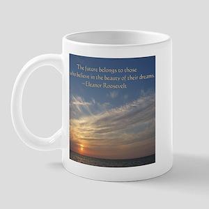 The Future Belongs Mugs