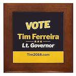 Tim 2018 - Vote Framed Tile