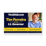 Tim 2018 - Picture Car Magnet 20 x 12